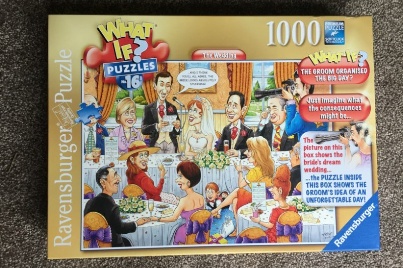 What If? No 16 The Wedding 1000 piece puzzle from Ravensburger