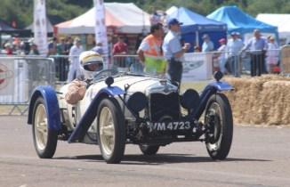 Enjoying the Classic & Sports Car Show in association with Flywheel