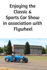 Enjoying the Classic & Sports Car Show in association with Flywheel