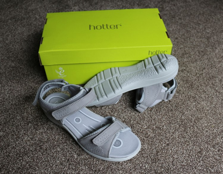 Getting outdoors with Mae Sandals from Hotter