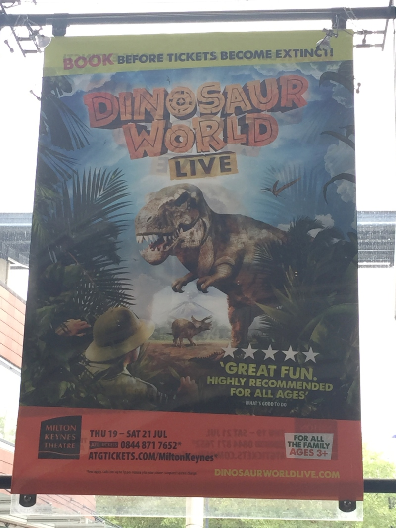 Enjoying Dinosaur World Live
