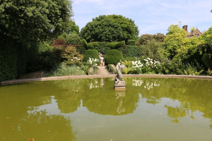 Exploring Hidcote for the first time