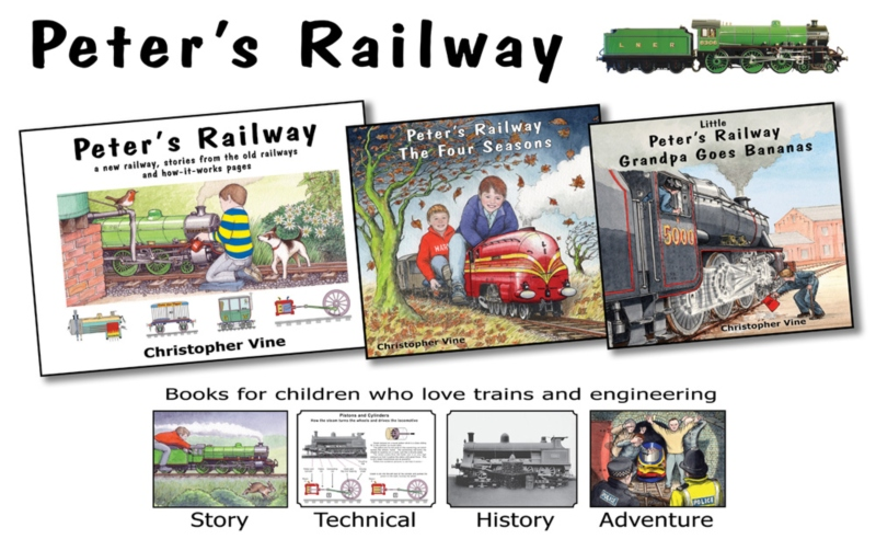 Peter's Railway book bundle giveaway