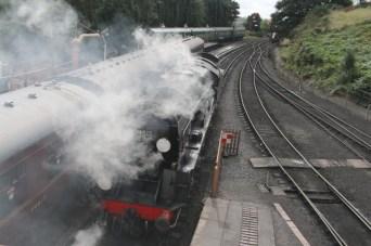 Steam Train adventures on the Severn Valley Railway