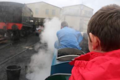 Making memories on the Bluebell Railway