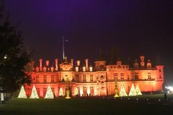 Exploring the Christmas Carnival at Waddesdon Manor
