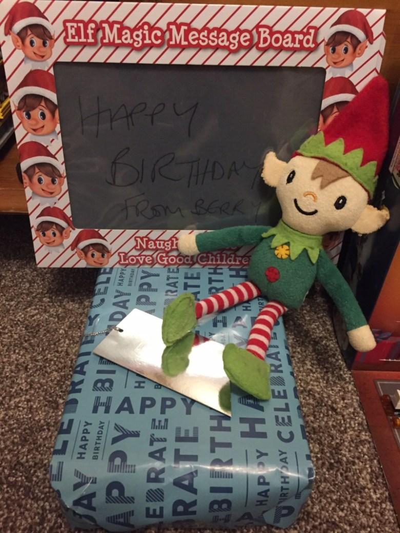 Berry the Elf in 2018