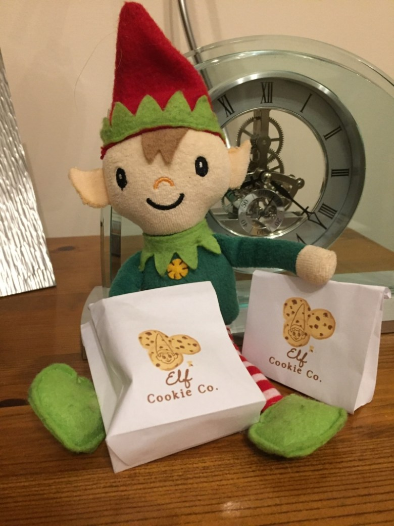 Berry the Elf in 2018 - days 1-7