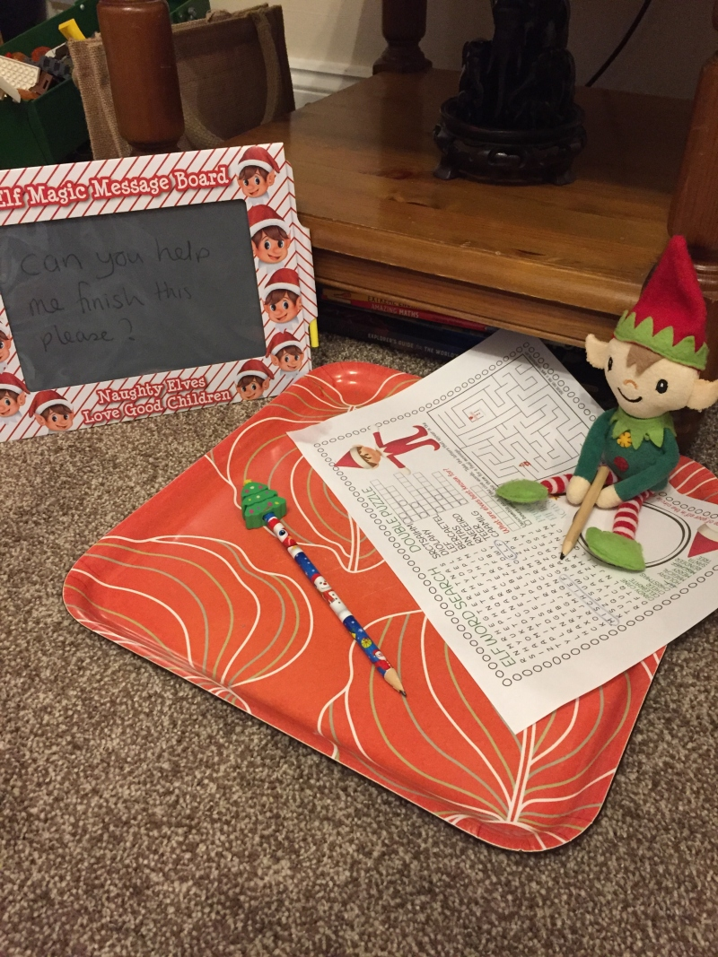 Berry the Elf in 2018 - days