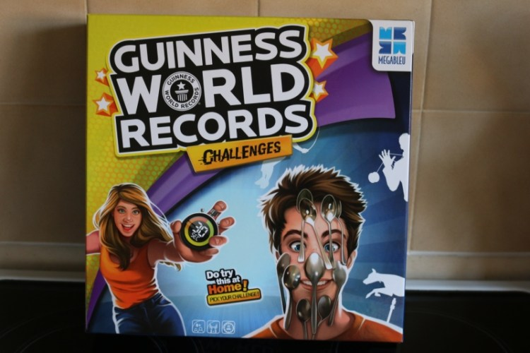Guinness World Record Challenges game