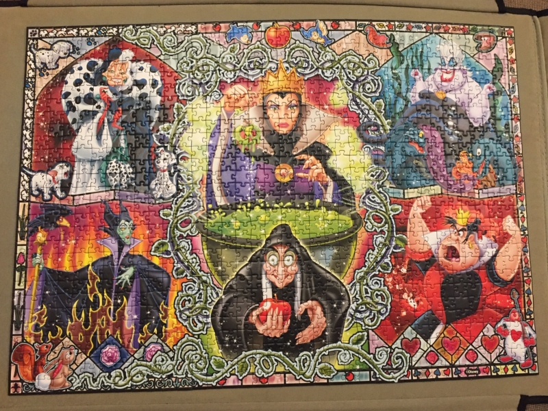 Ravensburger Disney Wicked Women 1000pc Jigsaw Puzzle