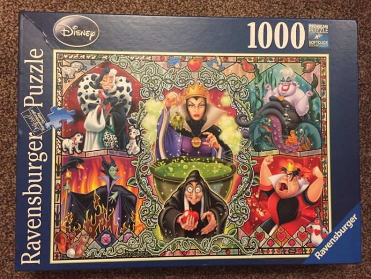 Ravensburger Disney Wicked Women 1000pc Jigsaw Puzzle