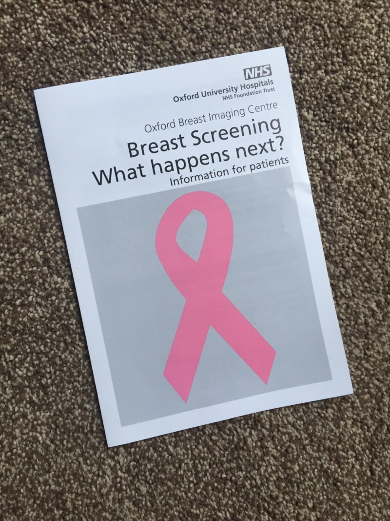 What to expect from a NHS Breast Screening appointment