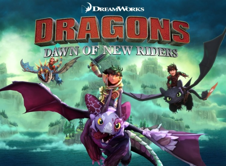 Dragons: Dawn of New Riders game