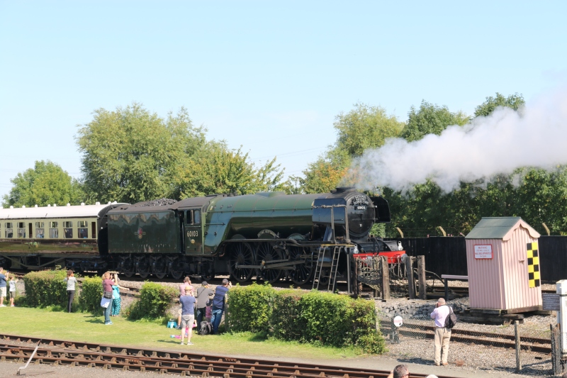 Flying Scotsman at Didcot Railway Centre