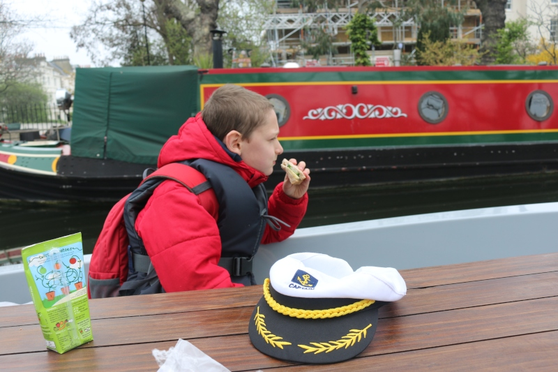 Exploring Regents Canal with GoBoat London