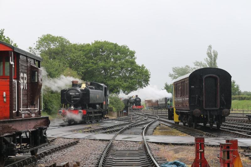 Buckinghamshire railway Centre Spring Steam Gala