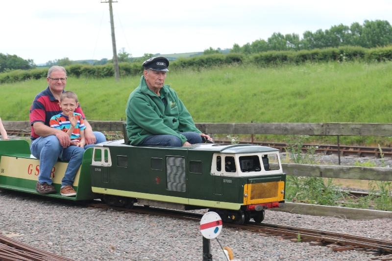 Miniature railway Quainton