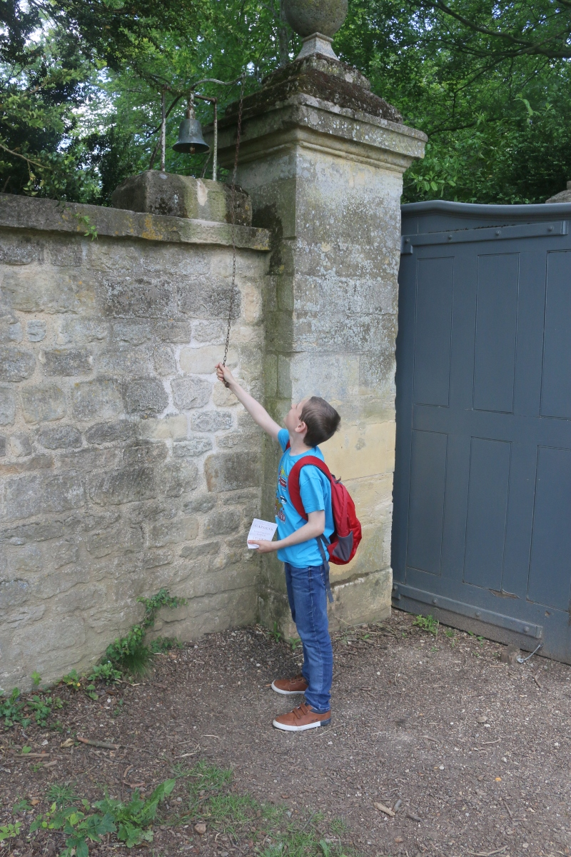 bell ringing at Bell Gate