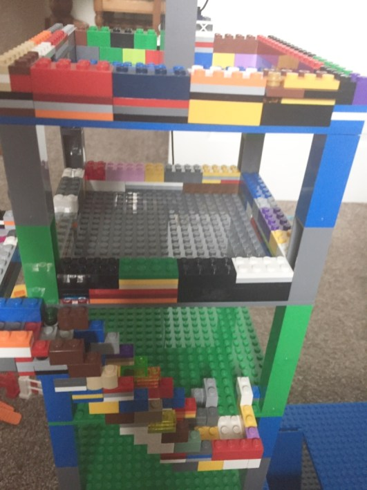 Construction brick fun with Strictly Briks
