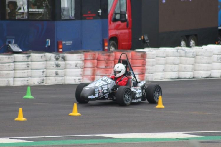Enjoying a day at Formula Student