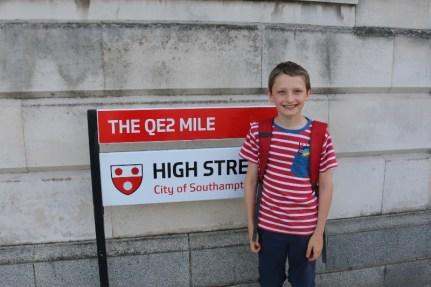 QE2 mile