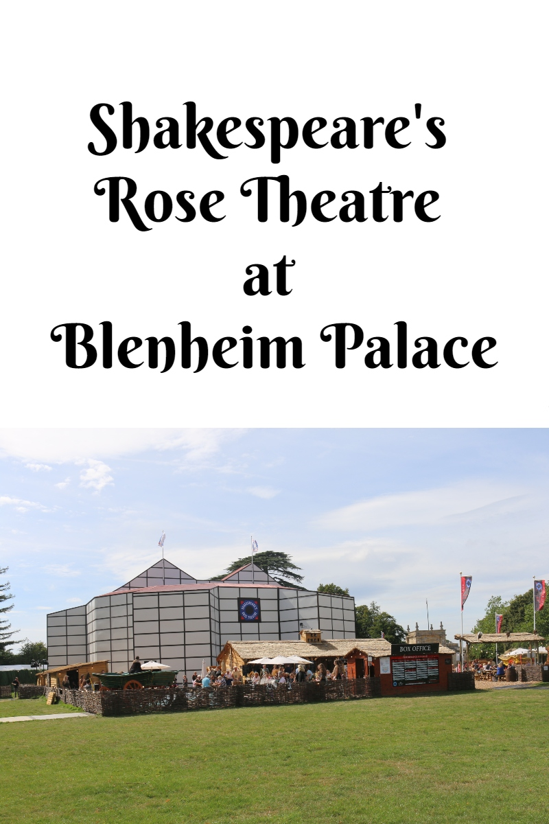 Shakespeare's Rose Theatre at Blenheim Palace