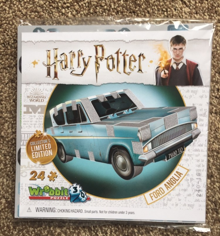Limited edition Harry Potter Ford Anglia 3D puzzle