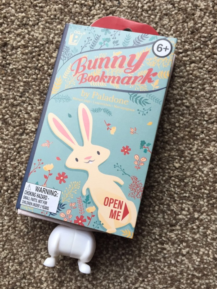 Bunny Bookmark giveaway