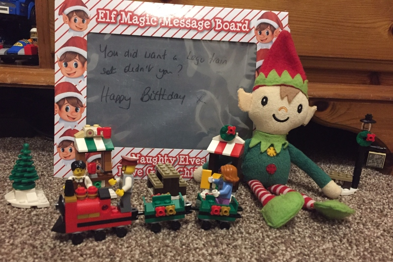 Berry the Elf in 2019 Day 9