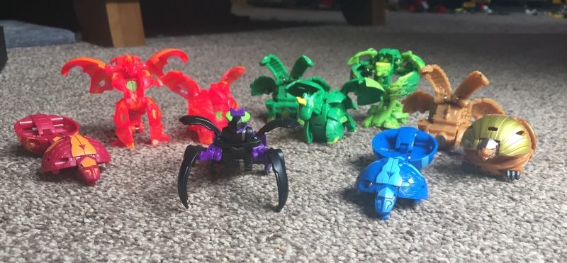 Having fun with Bakugan