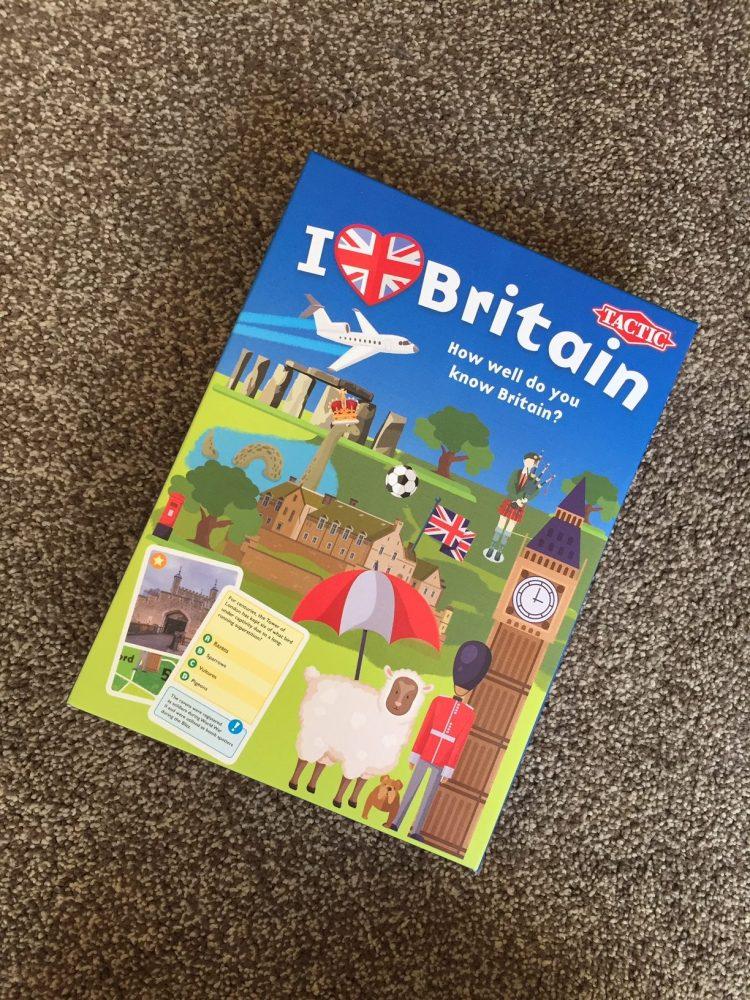 I Love Britain game