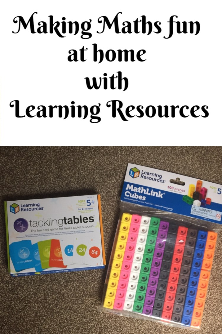 Making Maths fun at home with Learning Resources