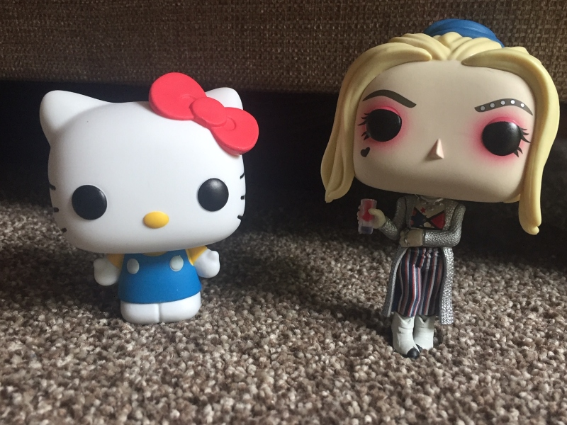 Harley Quinn Black Mask Club and Hello Kitty