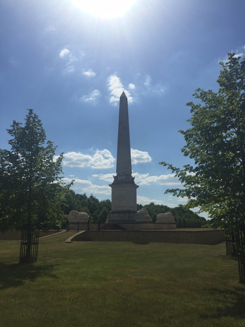 Obelisk at Tusmore Estate
