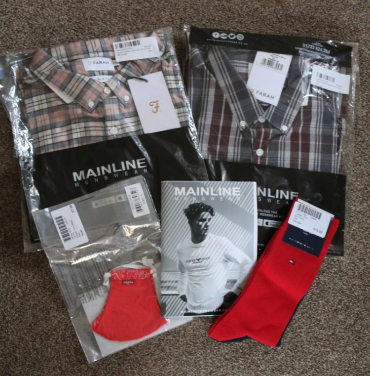 Christmas gift ideas from Mainline Menswear