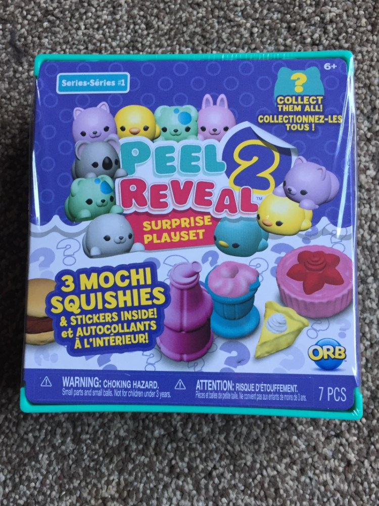 Peel 2 Reveal Mochi Squishies Surprise Playset worth £9.99 giveaway