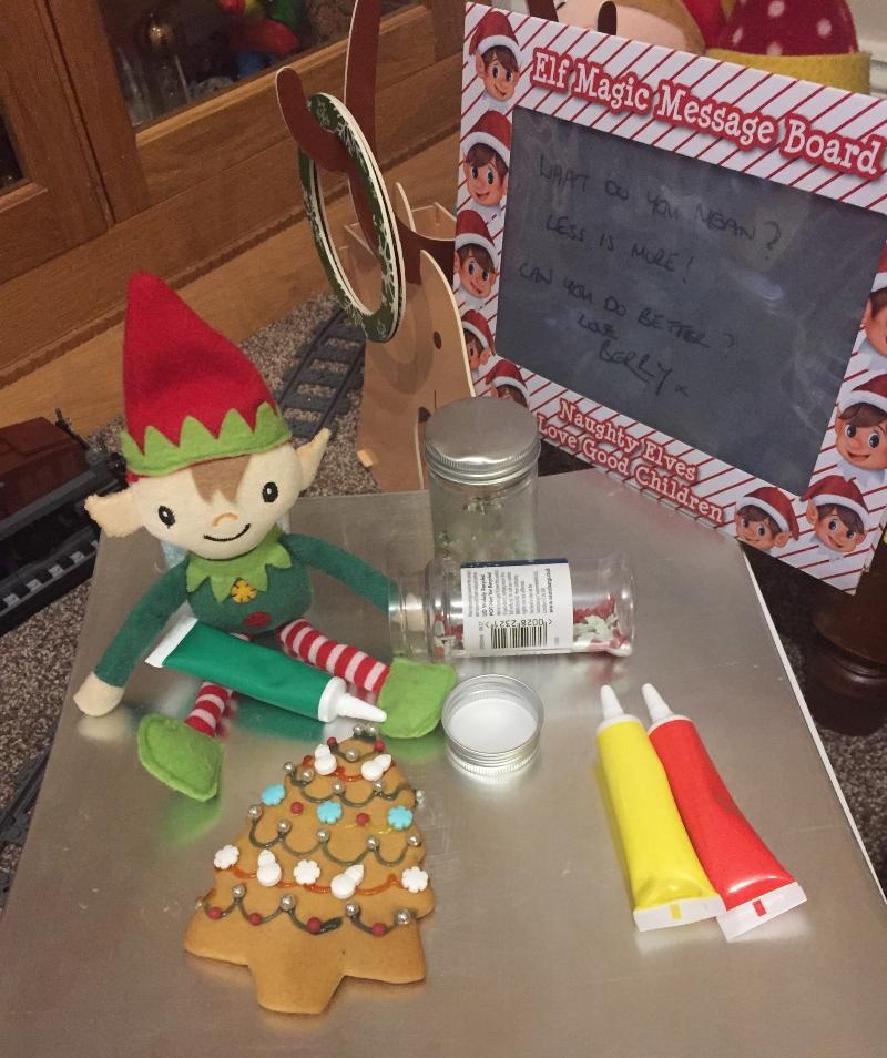 Elf Antics with Berry the Elf 2020 Day 22