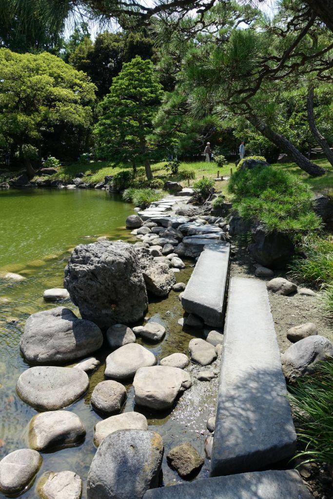 清澄庭園 磯渡3