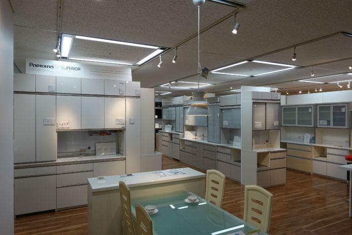 大塚家具有明29 キッチン システム収納