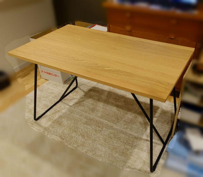 MUJIおりたたみテーブル1