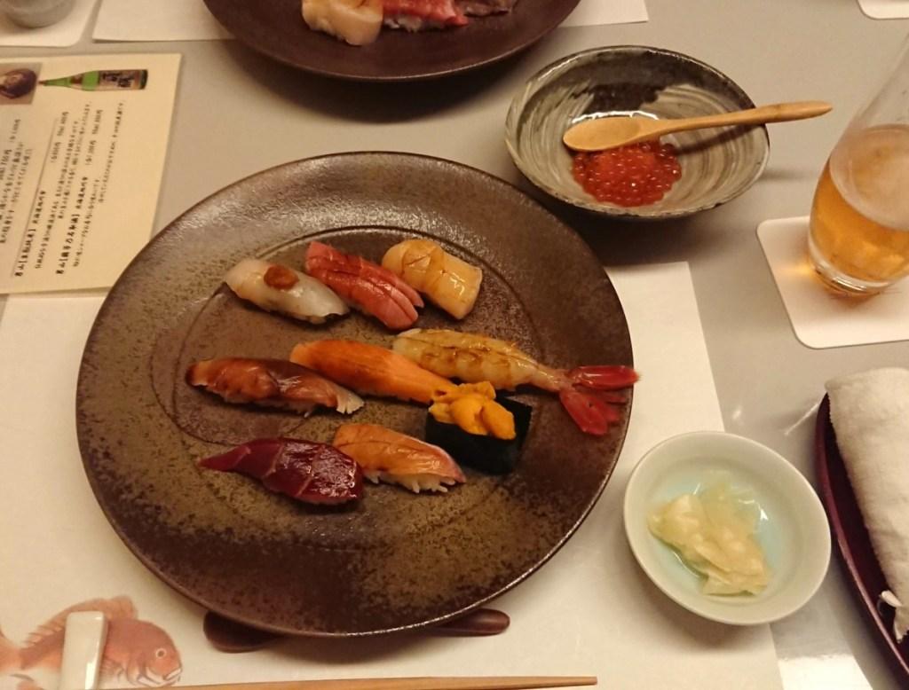 ウィンザーホテル洞爺 こげつ 寿司