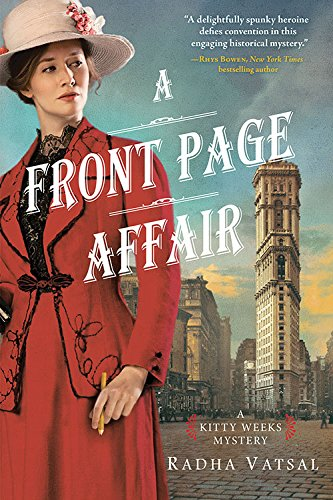 Front Page Affair (Kitty Weeks Mystery)
