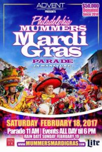 Mummers Mardigras 2017