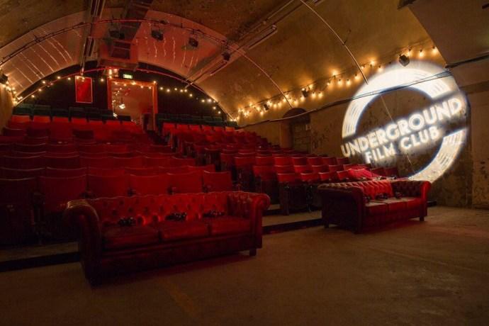 underground cinema, London