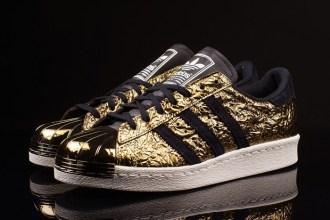 adidas Superstar 80s Metal Toe Gold Foil