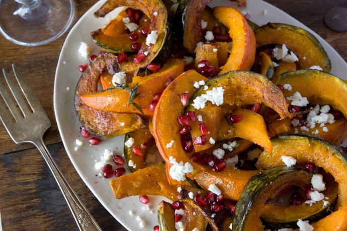 Roasted-Pumpkin-and-Squash-with-Pomegranate-and-Ricotta-Salata-Whats-Gaby-Cooking