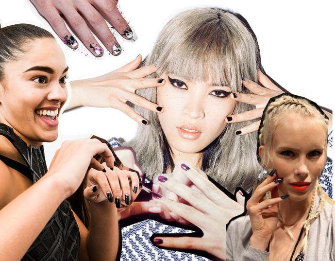 goth-nails