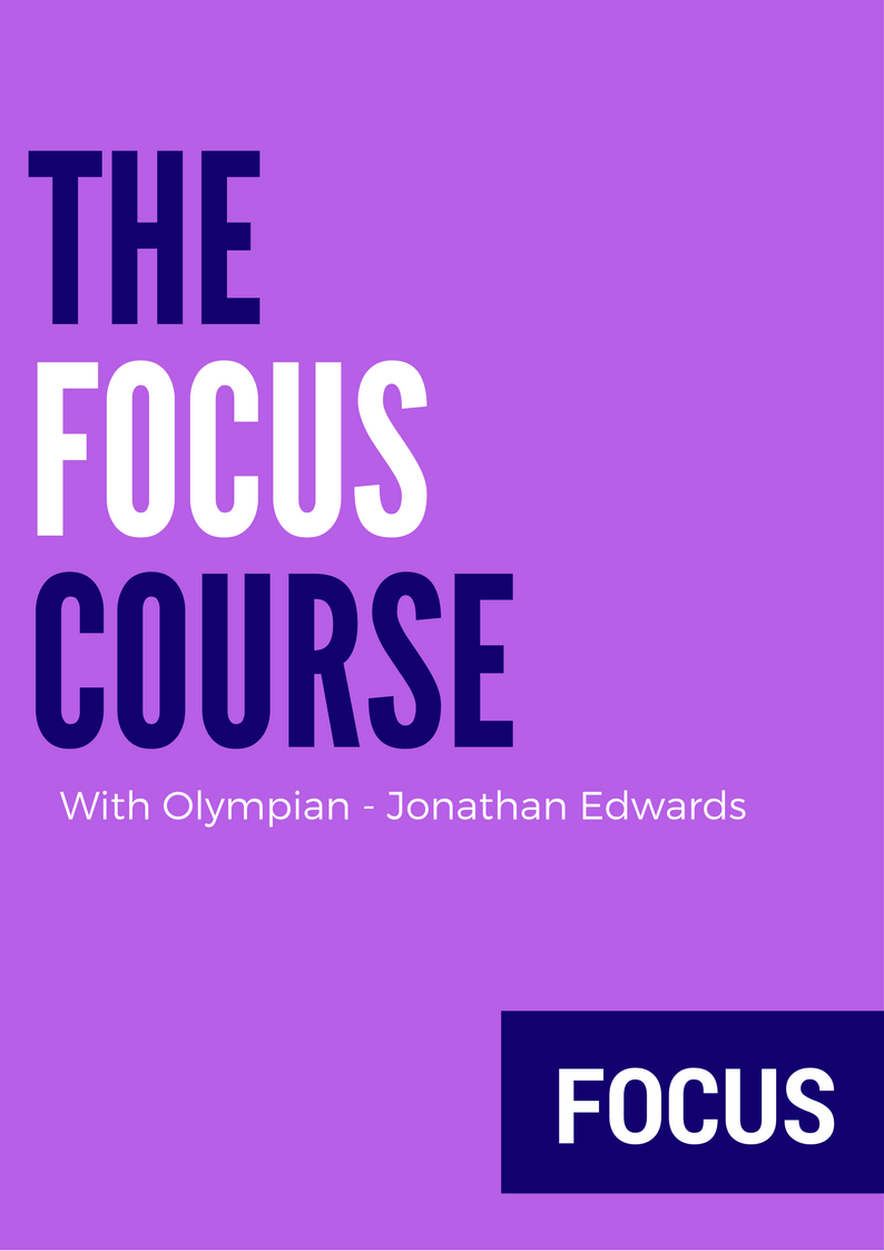 The Focus Course with Olympian - Jonathan Edwards