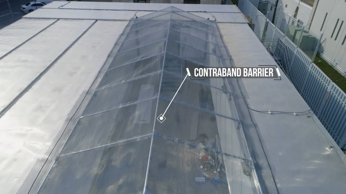 Contraband Barrier With Climate Controls